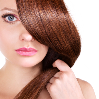 Lepotica smeđa kosa