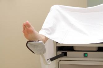 Pacijent na ginekološkoj stolici