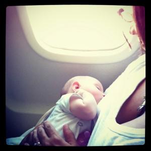 Dojenje u avionu