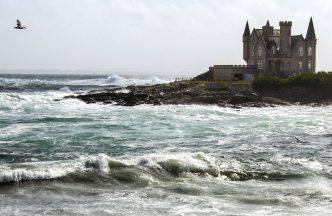 Zamak na moru