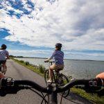 Vožnja bicikla uz reku