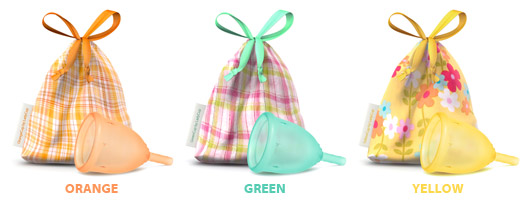 Menstrualne čašice u vrećicama