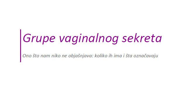 grupe-vaginalnog-sekreta