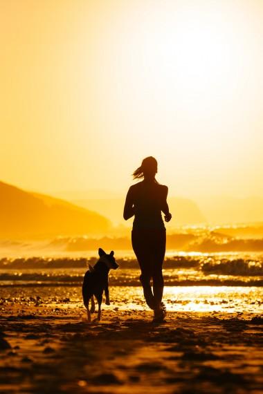 trcanje sa psom