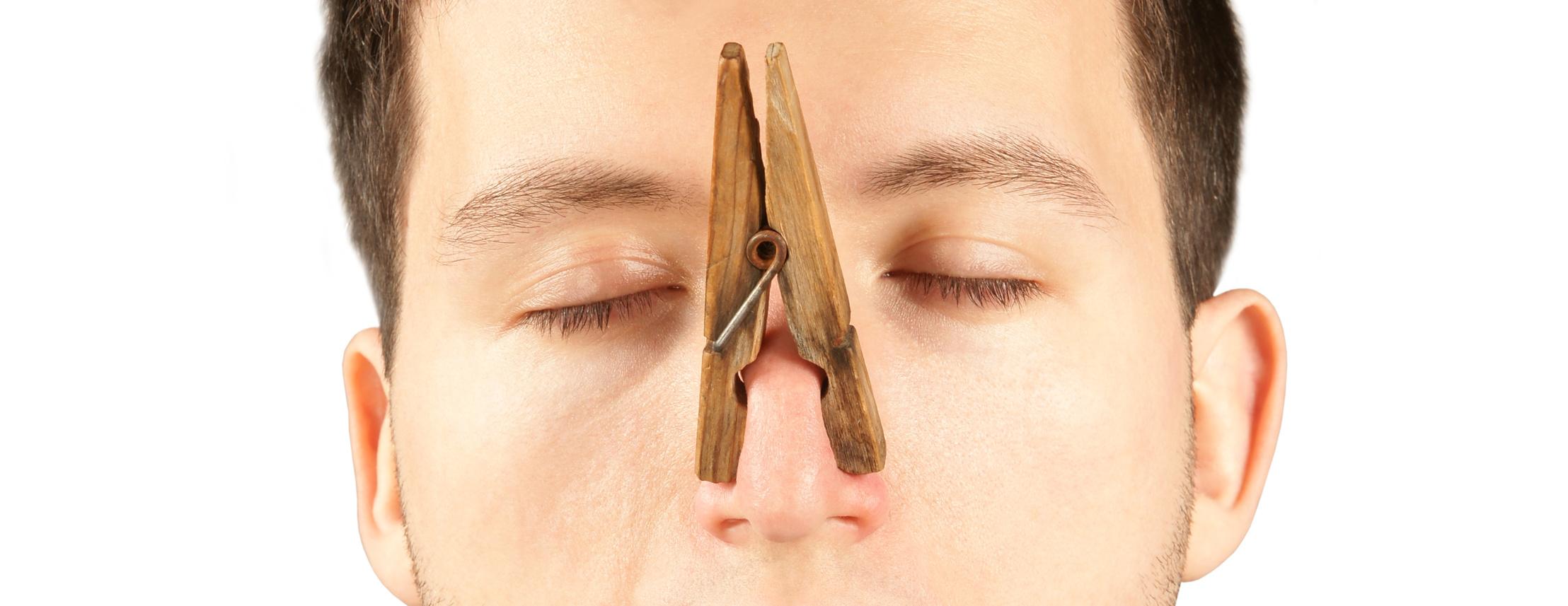 Zapušen nos