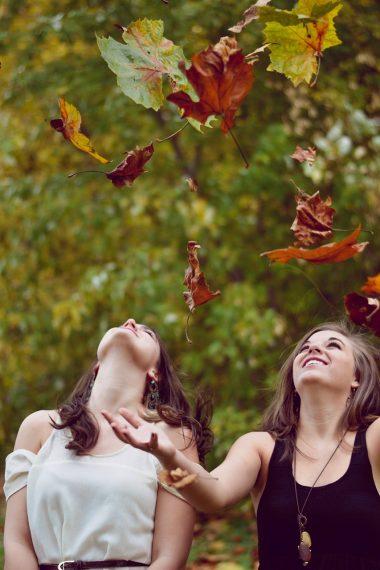 Devojke u jesen