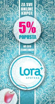 Apoteke Lora 5% na online kupovinu