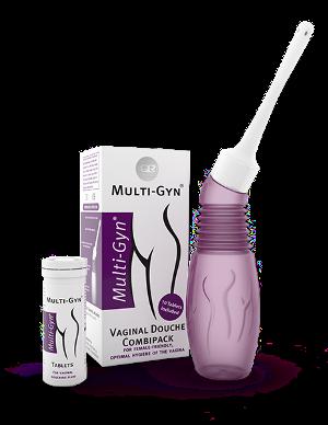 Multi-Gyn Vaginaln Irigator i Tablete
